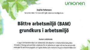 Bättre arbetsmiljö (BAM) EKG